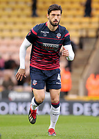 Bolton Wanderers' Jason Lowe during the pre-match warm-up <br /> <br /> Photographer David Shipman/CameraSport<br /> <br /> The EFL Sky Bet Championship - Norwich City v Bolton Wanderers - Saturday 8th December 2018 - Carrow Road - Norwich<br /> <br /> World Copyright &copy; 2018 CameraSport. All rights reserved. 43 Linden Ave. Countesthorpe. Leicester. England. LE8 5PG - Tel: +44 (0) 116 277 4147 - admin@camerasport.com - www.camerasport.com