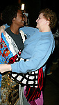 Carole Shelley and Kisha Howard (Gypsy Robe Winner) Attending the Opening Night Gypsy Robe Ceremony  for the New Broadway Musical, WICKED ( The Untold Story of the Witches Of Oz ), at the Gershwin Theatre in New York City.<br /> October 30, 2003