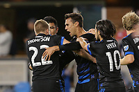 San Jose, CA - Wednesday May 17, 2017: Chris Wondolowski during a Major League Soccer (MLS) match between the San Jose Earthquakes and Orlando City SC at Avaya Stadium.