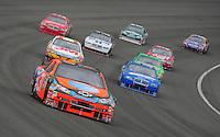 Feb 24, 2008; Fontana, CA, USA; NASCAR Sprint Cup Series driver Jeff Burton (31) during the Auto Club 500 at Auto Club Speedway. Mandatory Credit: Mark J. Rebilas-US PRESSWIRE