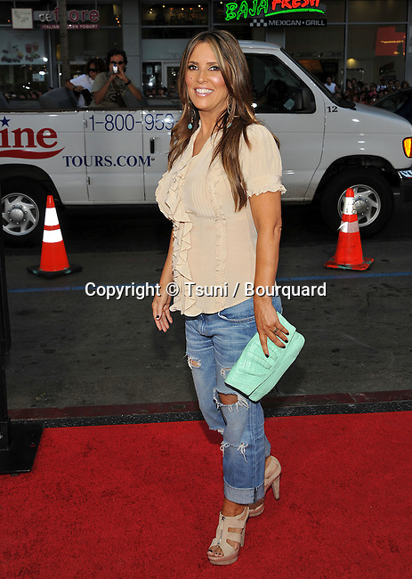 Jillian Barberie-Reynolds -<br /> All About Steve Premiere at the Chinese Theatre In Los Angeles.
