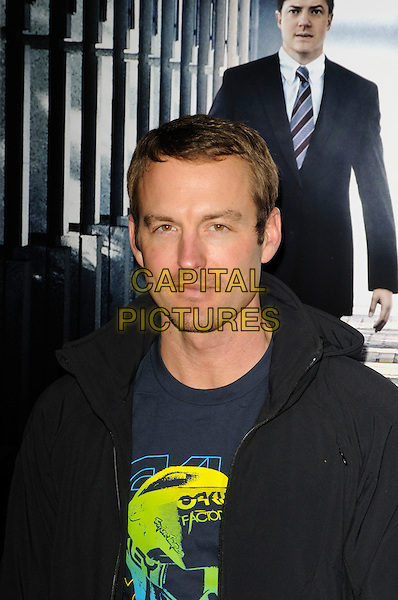 "GUNNER WRIGHT .arriving at the premiere of ""Extraordinary Measures"" at Grauman's Chinese Theatre in Hollywood, California, USA,   January 19th, 2010..arrivals portrait headshot black navy blue t-shirt hoodie .CAP/ROT.©Lee Roth/Capital Pictures"