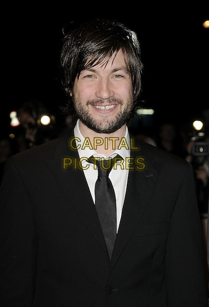 "LIAM McMAHON.The ""Hunger"" UK premiere, London Film FEstival, Day 5, Odeon West End, London, England..October 19th, 2008.LFF half length black suit jacket beard facial hair .CAP/CAN.©Can Nguyen/Capital Pictures."