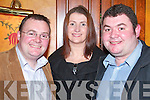 Having a good time at the Killarney Pitch and Putt Social in The Killarney Avenue Hotel on Friday night were Richard , Susan and Bobby Kelly, Kllcummin.   Copyright Kerry's Eye 2008