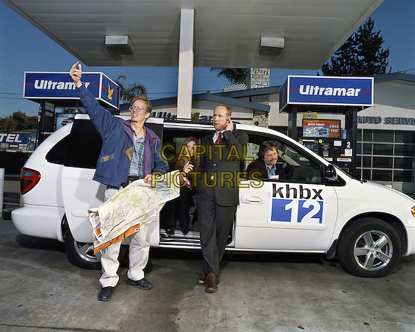 ANDREA SAVAGE, MATT WALSH & ZACH GALIFIANAKIS.in Dog Bites Man.The Critically Acclaimed Dog Bites Man (USA).*Editorial Use Only*.Ref: FB.www.capitalpictures.com.sales@capitalpictures.com.Supplied by Capital Pictures.