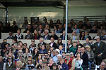 Stamford, Lincolnshire, United Kingdom, 8th September 2019, HRH Countess of Wessex and Lady Louise Windsor sit in the Royal Box on Day 4 of the 2019 Land Rover Burghley Horse Trials, Credit: Jonathan Clarke/JPC Images