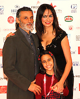 Giornate Professionali del Cinema 2014   <br />   Maria Grazia  Cucinotta , Enrico Lo Verso and Denise Sapia  attends at photocall for the movie &quot;Nomi e Cognomi i &quot; during the professional days of cinema in Sorrento december 02 , 2014                         Giornate Professionali del Cinema 2014
