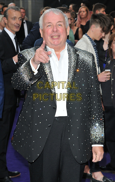 Christopher Biggins at the &quot;Disney's Aladdin&quot; press night, Prince Edward Theatre, Old Compton Street, London, England, UK, on Wednesday 15 June 2016.<br /> CAP/CAN<br /> &copy;CAN/Capital Pictures