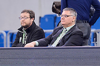 President of ACB, Francisco Roca during Finals match of 2017 Mini King's Cup at Fernando Buesa Arena in Vitoria, Spain. February 19, 2017. (ALTERPHOTOS/BorjaB.Hojas) /NortEPhoto.com