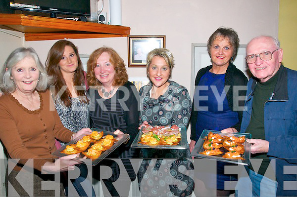 Tapas Night : Pictured at John B. Keanes Bar, Listowel on Friday night where a Tapas night was held were Joan Stack, Maura O'Connell, Carol Stricks, Cathriona McCarthy, Noelle O'Connell & Joe Cleary.
