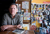 Jesus Mario F Hernandez. Hardware store owners in Quila, Sinaloa,  Mexico