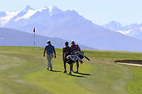 Ryan Fox (NZL) walks to the 7th green during Saturday's Round 3 of the 2018 Omega European Masters, held at the Golf Club Crans-Sur-Sierre, Crans Montana, Switzerland. 8th September 2018.<br /> Picture: Eoin Clarke | Golffile<br /> <br /> <br /> All photos usage must carry mandatory copyright credit (&copy; Golffile | Eoin Clarke)