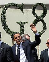 L'AQUILA 10/07/2009 - G8 SUMMIT 2009 L'AQUILA - NELLA FOTO BARACK OBAMA.