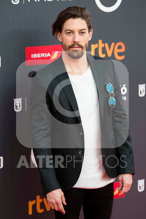 "Adrian Lastra attends to the presentation of the ""Premios Platino"" at Palacio de Cristal in Madrid. April 07, 2017. (ALTERPHOTOS/Borja B.Hojas)"