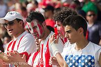 fecha:26-06-2011 Lugo-Alcoyano.  Aficionados de Lugo: foto: Pedro Agrelo