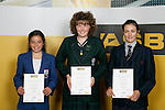 Girls Yachting finalists Alexandra Maloney, Bianca Barbarich Bacher & Justina Sellers. ASB College Sport Young Sportperson of the Year Awards 2007 held at Eden Park on November 15th, 2007.