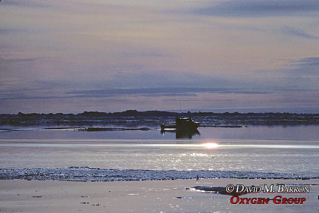 Inupiat's Hunting & Fishing On Arctic Ocean