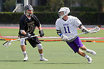 Orange, CA 05/16/15 - Dean Fairall (Grand Canyon #11) and Jay Snell (Colorado #41) in action during the 2015 MCLA Division I Championship game between Colorado and Grand Canyon, at Chapman University in Orange, California.