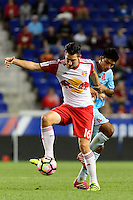 Harrison, NJ - Thursday Sept. 15, 2016: Sacha Kljestan during a CONCACAF Champions League match between the New York Red Bulls and Alianza FC at Red Bull Arena.