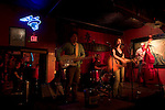 "The band ""Jane Bond"" performs at the Continental Club, Austin, TX."