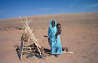 Portrait of farmer with her little home nursery
