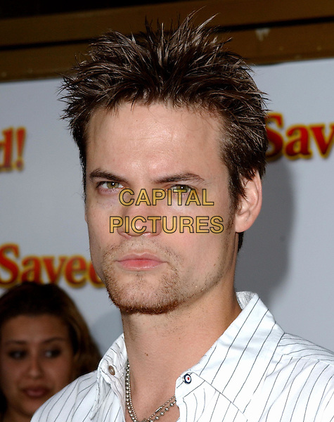 "SHANE WEST.At the United Artists' World Premiere of ""Saved!"" at the Mann National Theatre, .Westwood, California,.May 13,2004.portrait headshot.*UK sales only*.www.capitalpictures.com.sales@capitalpictures.com.©Debbie Van Story/Capital Pictures"