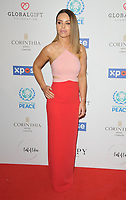 Katie Piper at the Football For Peace Initiative Dinner by Global Gift Foundation, Corinthia Hotel, Whitehall Place, London, England, UK, on Monday 08th April 2019.<br /> CAP/CAN<br /> &copy;CAN/Capital Pictures