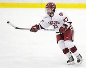 Alisa Baumgartner (Harvard - 27) - The Harvard University Crimson defeated the Boston College Eagles 5-0 in their Beanpot semi-final game on Tuesday, February 2, 2010 at the Bright Hockey Center in Cambridge, Massachusetts.