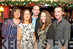 Ringing in the new year in Charlie Foleys were Miriam Dennehy, Carmel Lenihan, Tim Dennehy, Karen Brosnan and John Brosnan.