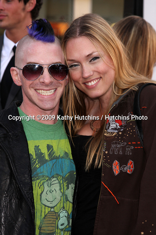 Seth Green & Guest arriving at the 17 Again Premiere at Grauman's Chinese Theater in Los Angeles, CA on April 14, 2009.©2009 Kathy Hutchins / Hutchins Photo....                .