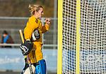 AMSTELVEEN - Kiki Gunneman (Pinoke)   tijdens de competitie hoofdklasse hockeywedstrijd dames, Pinoke-SCHC (1-8) . COPYRIGHT KOEN SUYK
