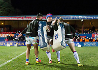 Picture by Allan McKenzie/SWpix.com - 09/02/2018 - Rugby League - Betfred Super League - Wakefield Trinity v Salford Red Devils - The Mobile Rocket Stadium, Wakefield, England - Keegan Hirst warms up.