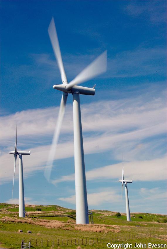Wellrig wind farm, Cumbria.