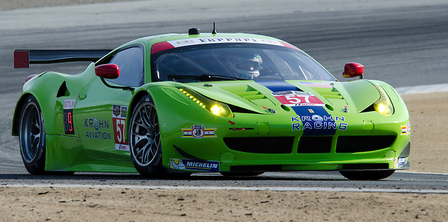 Monterey California, May 4, 2014, Laguna Seca Monterey Grand Prix, Ferrari on track