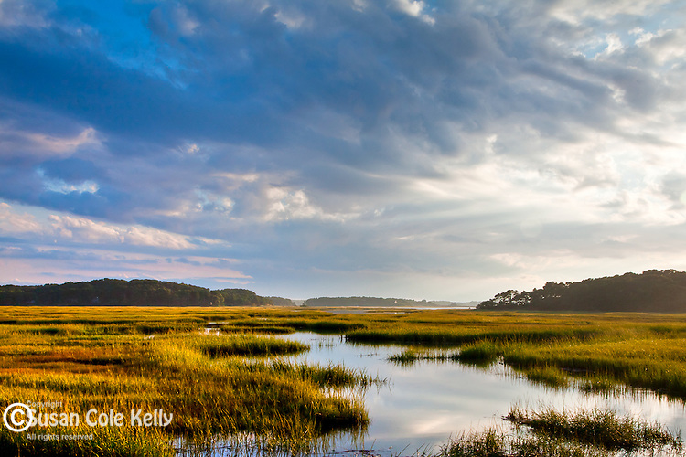 Sunset at Blackfish Creek, Wellfleet, Cape Cod, MA, USA