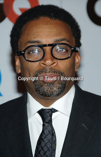 Spike Lee arriving at the 2006 GQ - Men Of The Year  at the Sunset Tower in Los Angeles.<br /> <br /> headshot<br /> eye contact