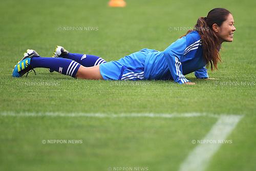 Homare Sawa (JPN), September 1, 2011 - Football : Women's Asian Football Qualifiers Final Round for London Olympic Match between Japan 3-0 Thailand at Shandong Provincial Stadium, Jinan, China. (Photo by Daiju Kitamura/AFLO SPORT) [1045]