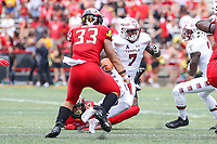 College Park, MD - September 15, 2018: Temple Owls running back Ryquell Armstead (7) runs the ball during  the game between Temple and Maryland at  Capital One Field at Maryland Stadium in College Park, MD.  (Photo by Elliott Brown/Media Images International)