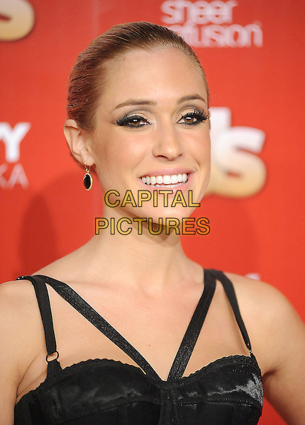 KRISTIN CAVALLARI.US Weekly's Hot Hollywood Party 2009 held at Voyeur, West Hollywood, California, USA. .November 18th, 2009.headshot portrait eyeliner make-up hair up black corset top.CAP/RKE/DVS.©DVS/RockinExposures/Capital Pictures.