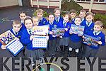 CALENDAR: Pupils of Knocknagree national school with their new 2010 calendar, which is now available locally, front l-r: Cathal Bradley, Kelly Brosnan, Klaudia Dabek, Megan O'Keeffe, Siobhan McSweeney, Lily Sheahan, Dan Murphy. Back l-r: Ciara Brosnan, Tadc O'Mahony, Michelle Brosnan, Denis O'Connor, Eoin Herlihy, Aisling Davis.
