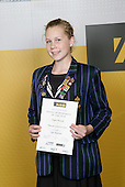 Gymnastics Rhythmic Girls Winner - Teegan Metcalfe. ASB College Sport Young Sportsperson of the Year Awards 2006, held at Eden Park on Thursday 16th of November 2006.<br />