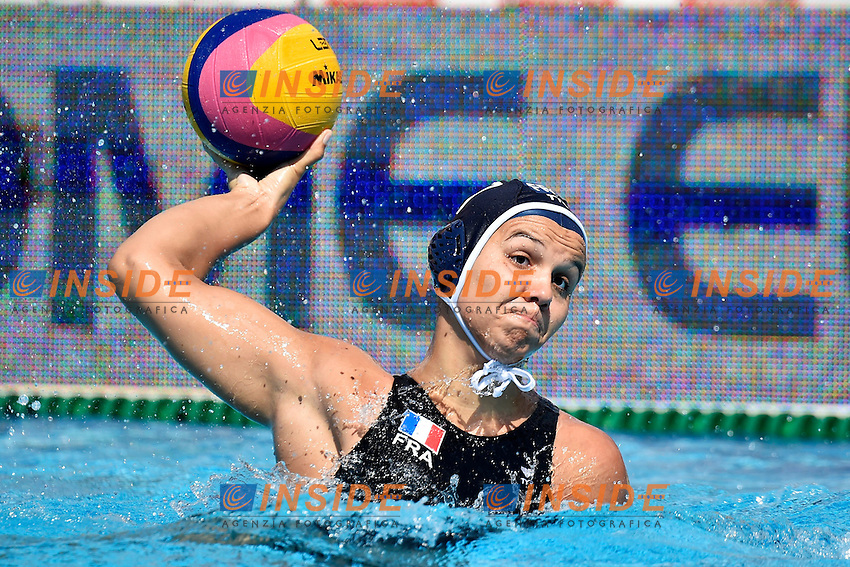 CLOMES Charlaine France <br /> Italy - France / Italia - Francia<br /> LEN European Water Polo Championships 2014<br /> Alfred Hajos -Tamas Szechy Swimming Complex<br /> Margitsziget - Margaret Island<br /> Day03 Women - July 16 <br /> Photo A.Staccioli/Insidefoto/