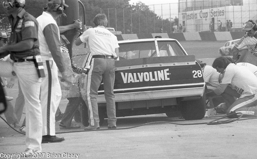 Atlanta Journal 500 at Atlanta International Raceway in Hampton, GA on November 6, 1983. (Photo by Brian Cleary/www.bcpix.com)