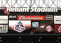 Reliant Stadium before the 2010 MLS All-Star match against Manchester United at Reliant Stadium, on July 28 2010, in Houston, Texas. Manchester United won 5-2.