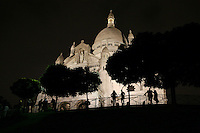 The Basilique du Sacré-Coeur, Montmartre, Paris, France, 17 September 2009