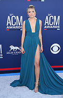 07 April 2019 - Las Vegas, NV - Danielle Bradbery. 2019 ACM Awards at MGM Grand Garden Arena, Arrivals. Photo Credit: mjt/AdMedia