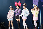 Silent Siren,  Feb 28, 2015  2015 S/S : February 28, 2015 : Fashion Runway Show of TOKYO GIRLS COLLECTION by girlswalker.com 2015 SPRING/SUMMER at Yoyogi Gymnasium in Shibuya, Japan.
