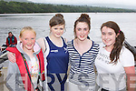 The Flesk Valley crew that won the u14 girls race at the Kenmare Regatta on Sunday l-r: Ciara Moynihan, Illona O'Donoghue, Jane Culloty and Niamh O'Sullivan ..