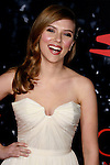 """HOLLYWOOD, CA. - December 17: Actress Scarlett Johansson arrives at the Los Angeles premiere of """"The Spirit"""" at the Grauman's Chinese Theater on December 17, 2008 in Hollywood, California."""