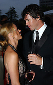 """The Bachelor"" stars Ryan Sutter, right, and Trista Rehn, left, attend a party at the 2003 White House Correspondents Dinner at the Washington Hilton Hotel in Washington, D.C. on April 26, 2003..Credit: Ron Sachs/CNP."